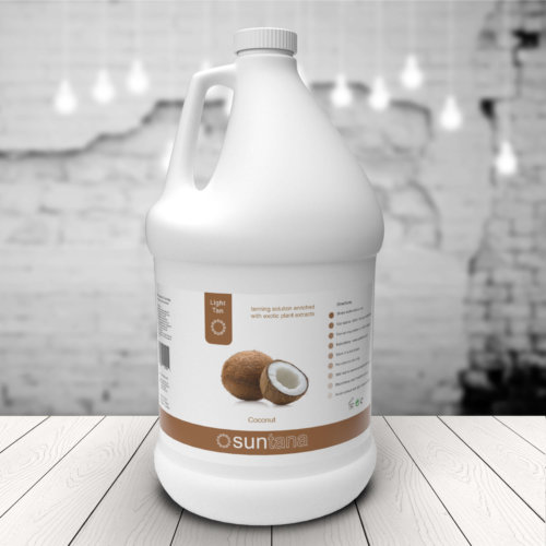 Trade Size ( groothandelfles)  Light Tan - 4000ml Coconut
